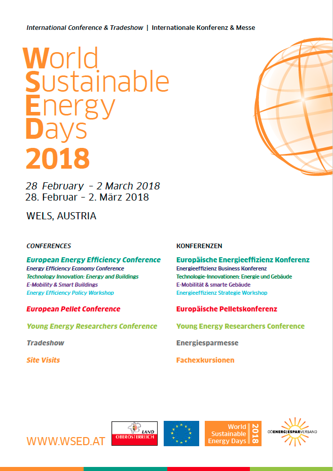 World Sustainable Energy Days 2018