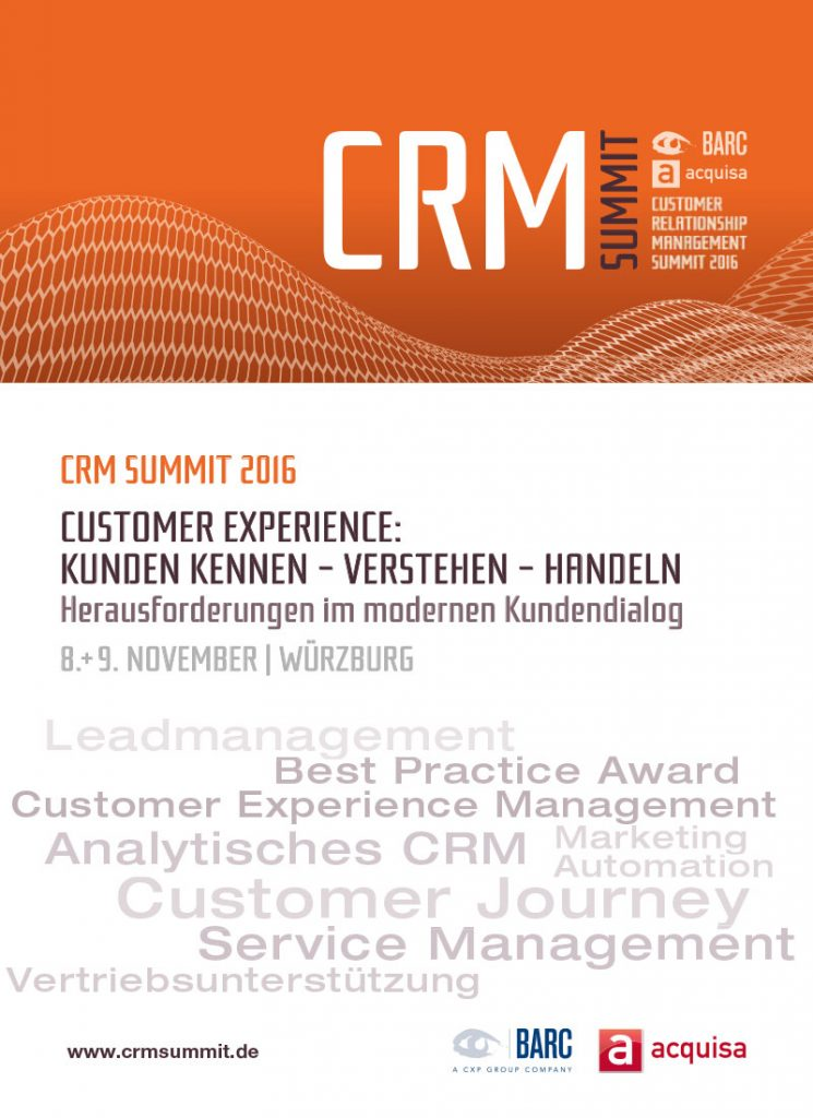 CRM Summit 2016